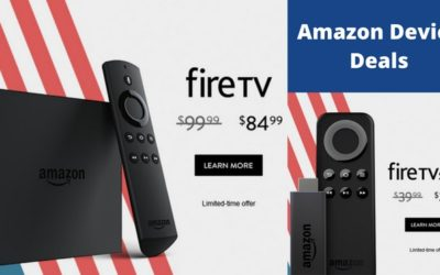 Amazon Fire TV Deals Happening Now